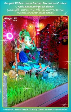 Suresh Shinde Ganpati Decoration