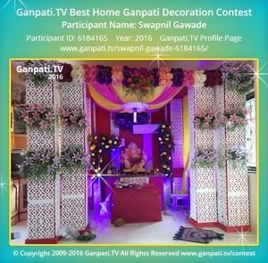 Swapnil Gawade Ganpati Decoration
