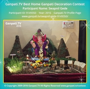 Swapnil Gede Ganpati Decoration