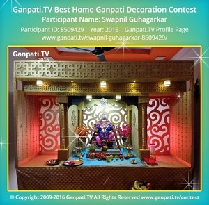 Swapnil Guhagarkar Ganpati Decoration