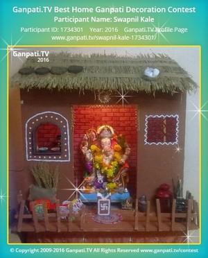 Swapnil Kale Ganpati Decoration