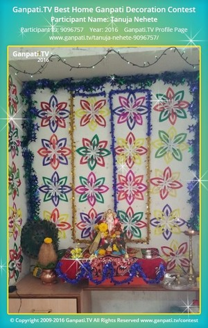 Tanuja Nehete Ganpati Decoration