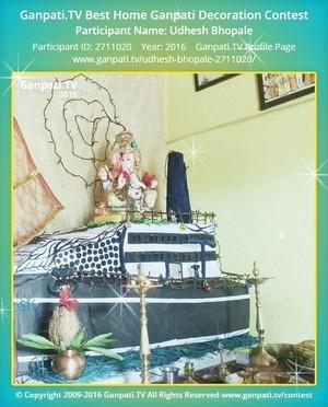 Udhesh Bhopale Ganpati Decoration