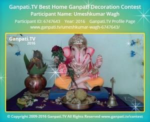 Umeshkumar Wagh Ganpati Decoration