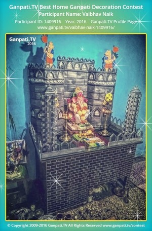 Vaibhav Naik Ganpati Decoration