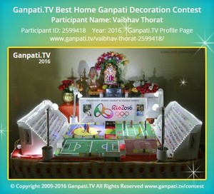 Vaibhav Thorat Ganpati Decoration