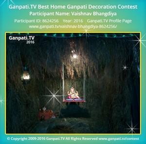Vaishnav Bhangdiya Ganpati Decoration