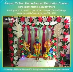 Vasudev More Ganpati Decoration