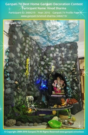 Vinod Sharma Ganpati Decoration