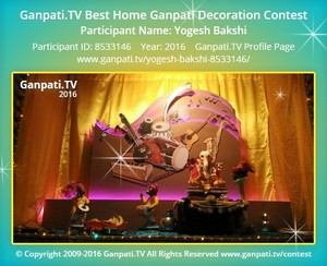 Yogesh Bakshi Ganpati Decoration