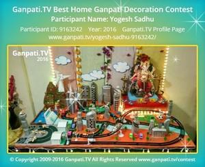 Yogesh Sadhu Ganpati Decoration