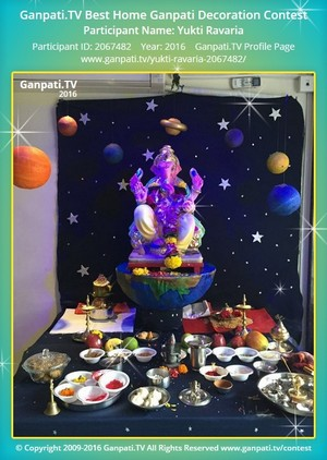 Yukti Ravaria Ganpati Decoration