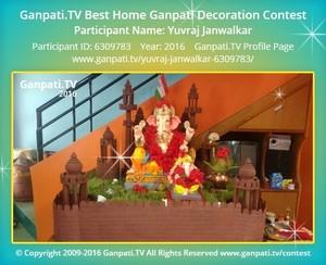 Yuvraj Janwalkar Ganpati Decoration