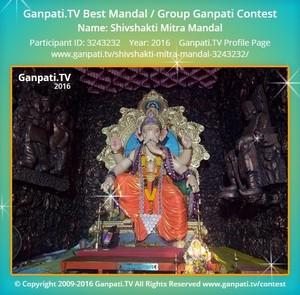 Shivshakti Mitra Mandal Ganpati Decoration