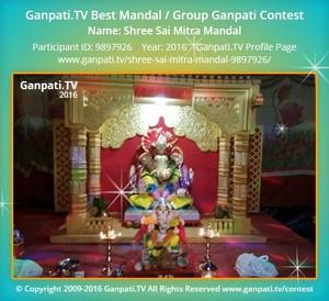 Shree Sai Mitra Mandal Ganpati Decoration