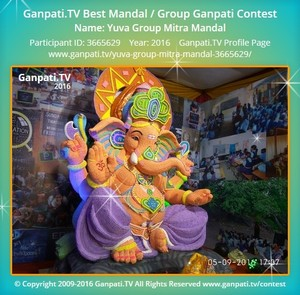 Yuva Group Mitra Mandal Ganpati Decoration